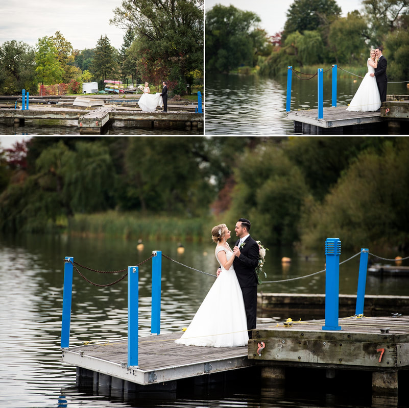 wedding photos, Dow's Lake