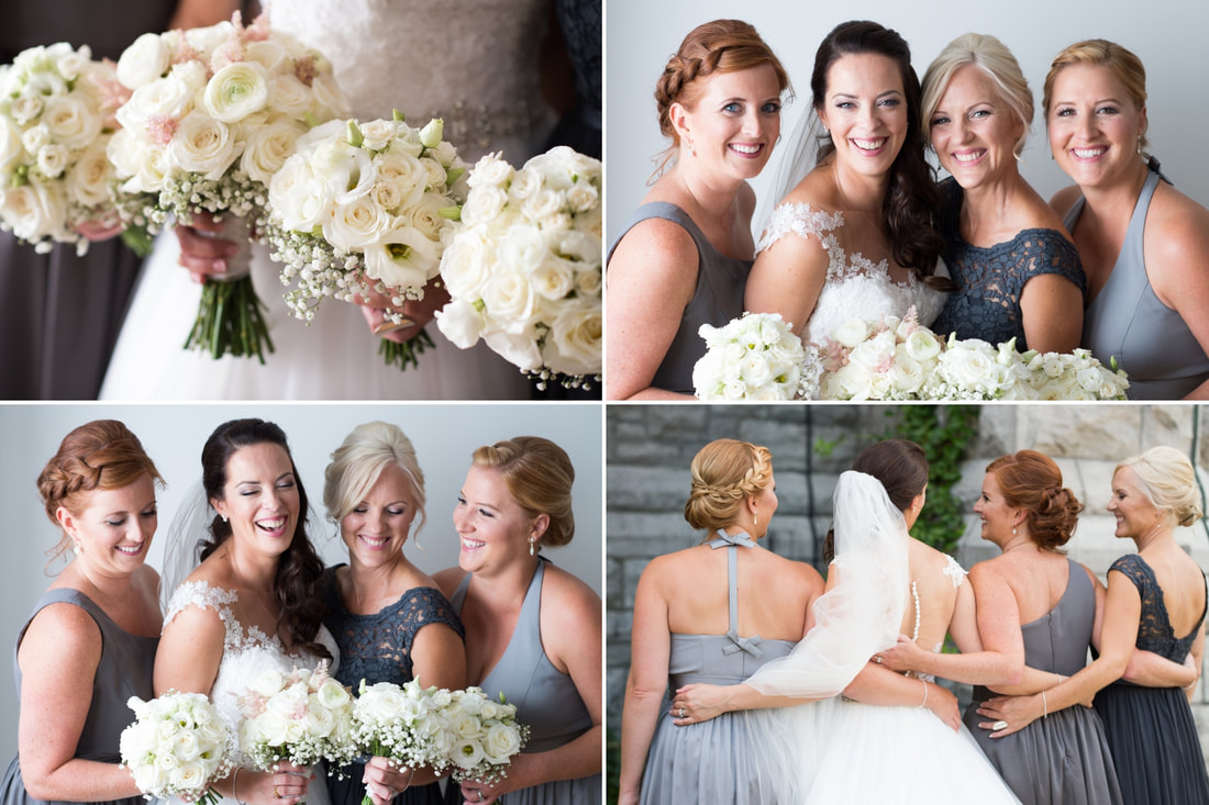 bridesmaids, bouquets, BFF