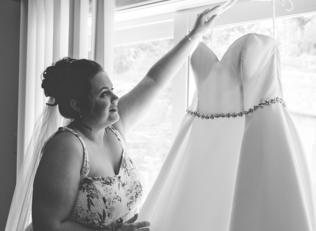 Bridals by Al-Mor, wedding gown, Wakefield, Quebec, Le Belvedere