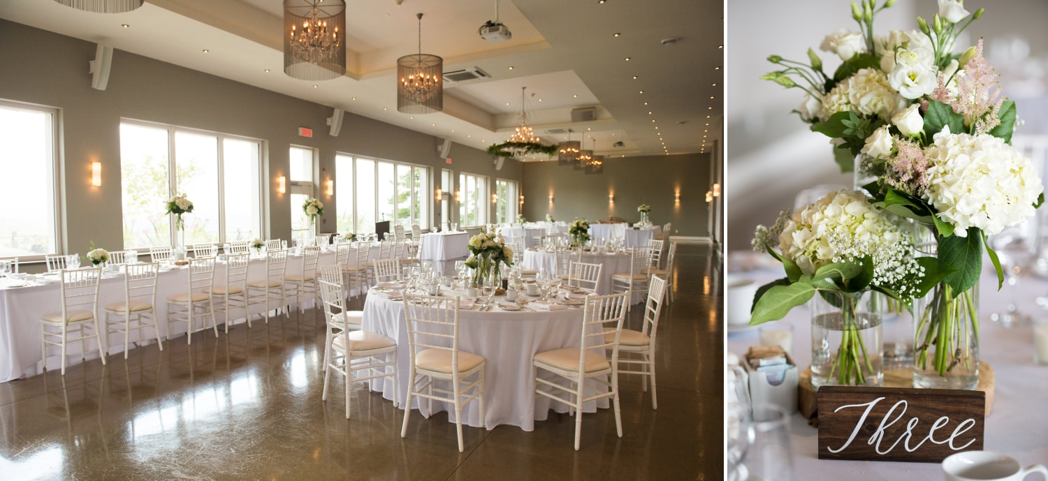 reception site and setup, Le Belvedere wedding, tablescapes, The Planted Arrow