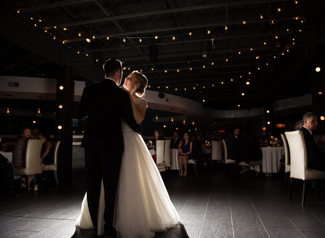 first dance, Lago wedding, Lago restaurant