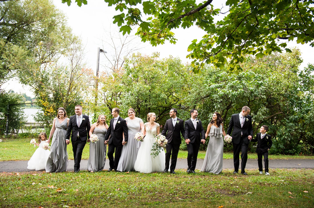 bridal party, Dow's Lake