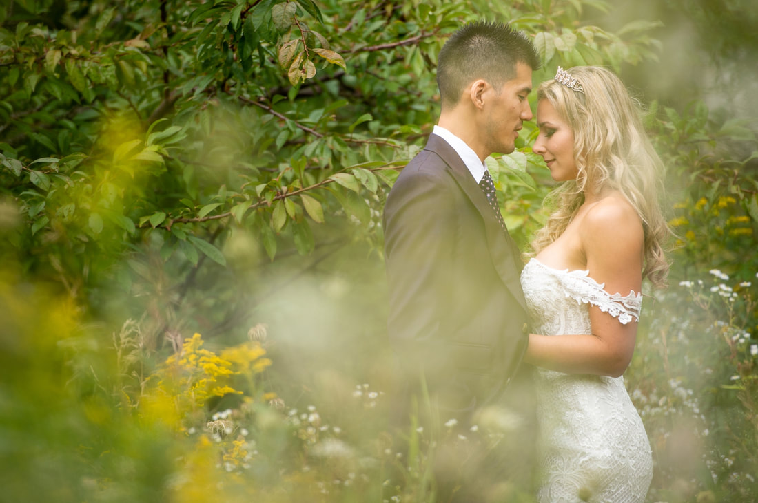 bridal portraits, bride and groom, Le Belvedere wedding