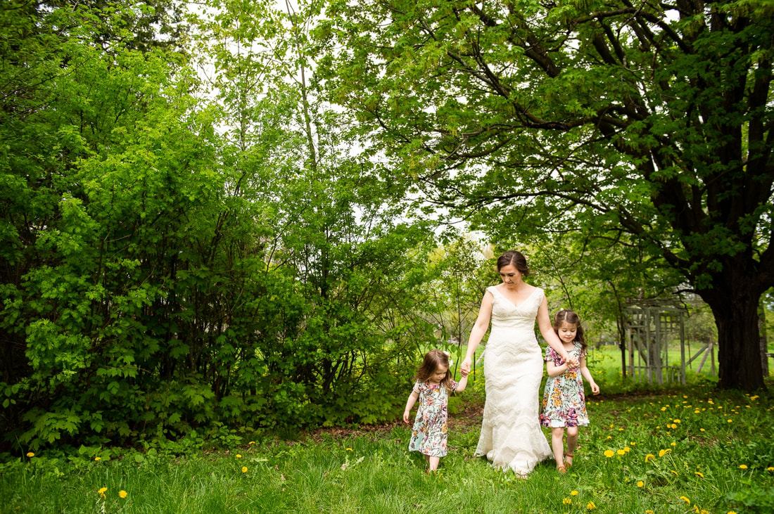 Mill of Kintail wedding, family photos