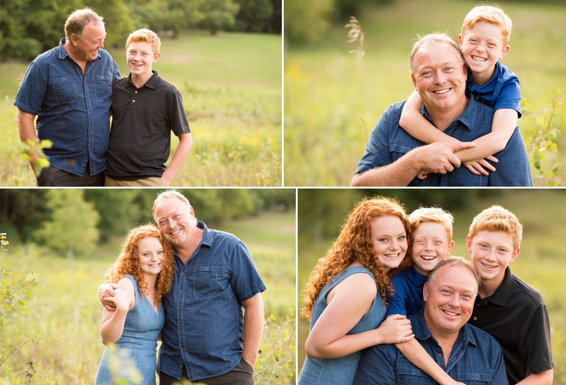 outdoor family session, family photography, fall family session