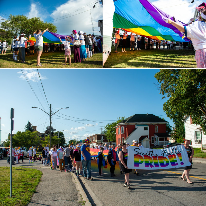 Tweed Canopy Growth Smiths Falls Pride Parade