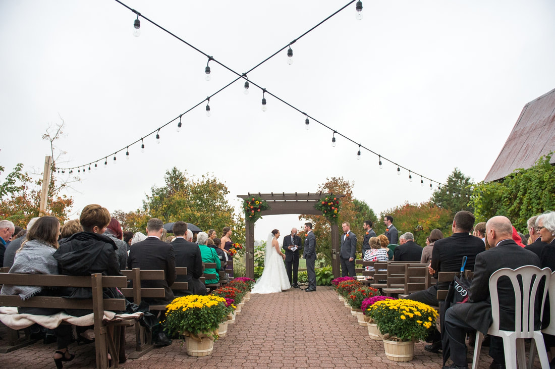 outdoor ceremony,  The Lodge, Strathmere