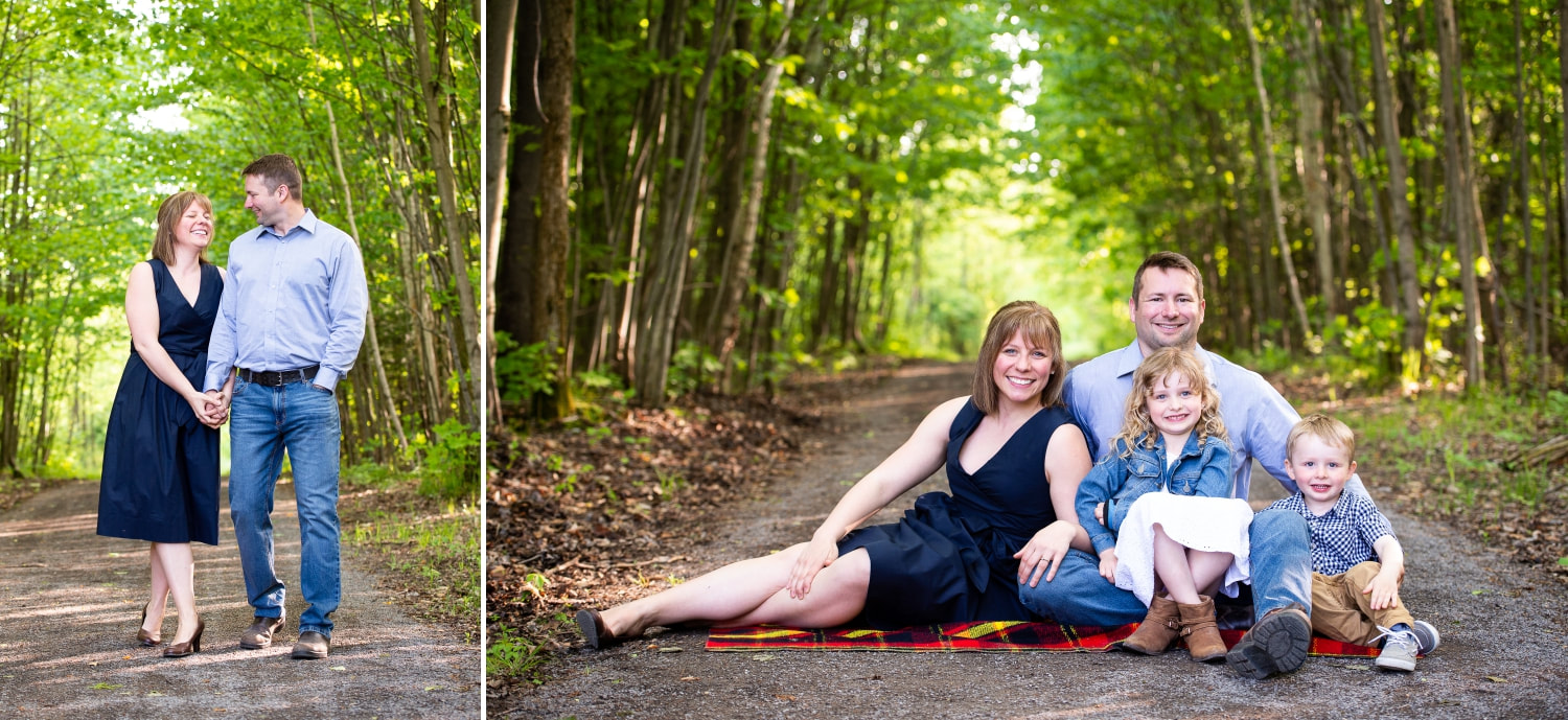 family session, summer session, outdoor family session
